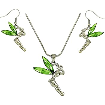 18K GOLD TONE AND GREEN CRYSTAL BELL KEYRING SWAROVSKI ELEMENTS GIFT FOR HER /'