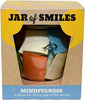 Smiles by Julie – Mindfulness Quotations in a Jar. A Quote for Every Day of The Month. Ideal Gift for Reflection, Meditation and Being Present in The Moment. Comes in its own Gift Box.