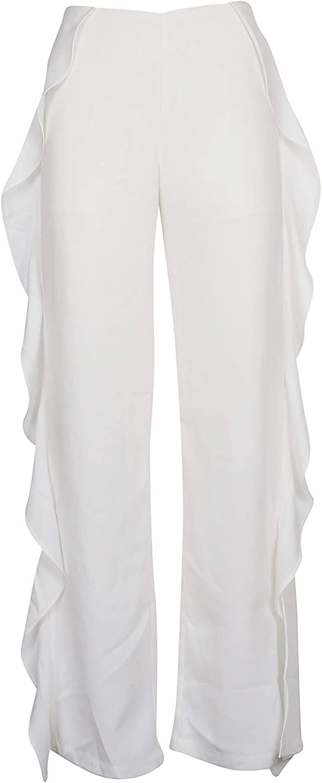 JOVONNA LONDON Women's 347MAJAWHITE White Polyester Pants