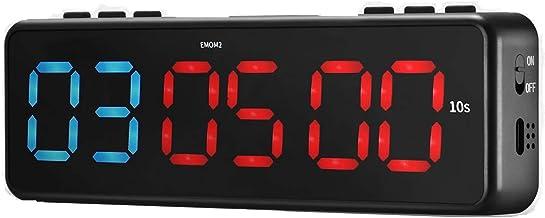 TTLIFE Gym Timer Magnetisch,LED Interval Timer Klok,Draagbare Fitness Timer Countdown Timer met Bluetooth APP Control, Min...