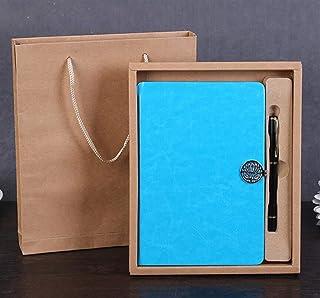 OIBHFO Home Schulzubehör Delicate Notebook Pu Leder Journal Geschenkset (Blau) B07LCXYB2R  Verkauf neuer Produkte