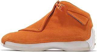 [ナイキ] (ジョーダン) エアジョーダン 18 レトロ メンズ バスケットボール シューズAir Jordan 18 Retro Campfire Orange AA2494-801 [並行輸入品]