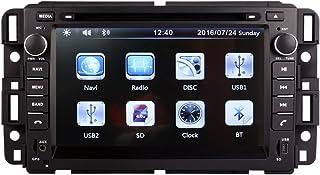 7 Inch Screen Car GPS Navigation for GMC Yukon Tahoe Acadia Chevrolet 2007-2012 Stereo DVD Player Video Radio Audio Blueto...