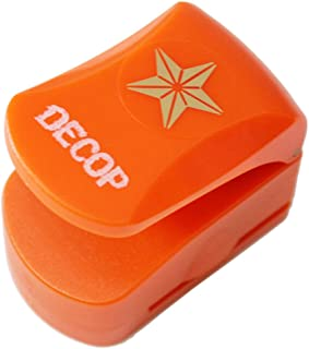 DECOP Embossed Craft Punch 25mm (1inch) 3D Star Small - coolthings.us
