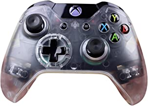 Transparent Clear Wireless Bluetooth Custom Controller for Xbox One
