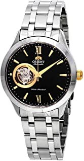 Orient Open Heart Automatic Black Dial Mens Watch FAG03002B0