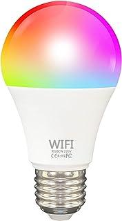 Staright Lâmpada TY009 Smart WiFi LED RGB com alteração de cor compatível com Alexa/Google Home/Tmall Genie Sem necessidad...