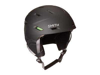 Smith Optics Mission Ski Helmet (Matte Black) Snow/Ski/Adventure Helmet