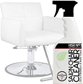 Salon & Barber Chair Cleaner - Hairspray Build Up Remover for Leather and Vinyl Hydraulic Salon Beauty Chair, Salon Booster Seat, Shampoo Bowl Chair for Pedicure Spa Equipment and Massage Table