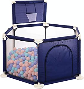 SXXDERTY-playard Baby Play yard Tents Infant Playpens Safety Household Protective Fence Assembled House Play Yard Home Indoor Fence Anti-Fall Play Pen