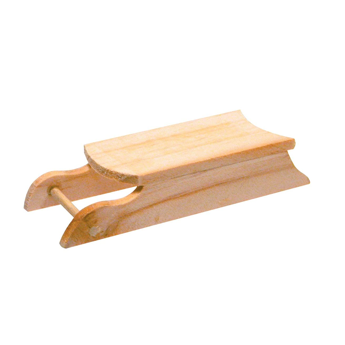 DARICE 2838 Unfinished Wood Sled: 3.6875 inches