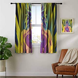 Curtain Rods Broly Dragon Ball Z Anime Artwork 8P Backout Draperies for Bedroom