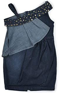 Little Kangaroos Girls Denim Dress