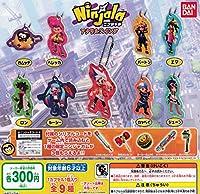 Ninjala ニンジャラ アクリルスイング 全9種セット ガチャガチャ