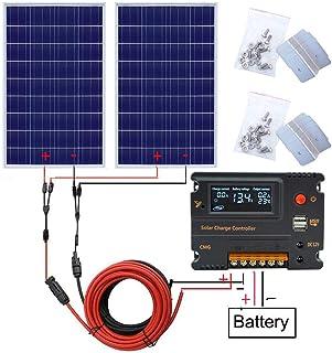 SODIAL line 65 * 65mm R 0.6W 5.5V solar panels polycrystalline silicon solar patch plastic DIY solar panels