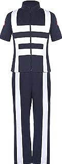Boku No Hero Academia Izuku/bnha Midoriya Costume Training Suit Uniform Sportswear Navy Blue