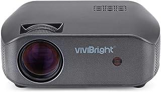 Vivibright F10 HD 720P LED Projector 3500 Lumens 1280*720P Resolution HDMI/USB/VGA/AV 300 inch Display Home Entertainment ...