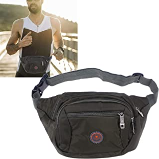 BESPORTBLE 1 PC Water Resistant Unisex Casual Waist Bag Fanny Pack for Running Riding Travel Climbing Cycling Hiking