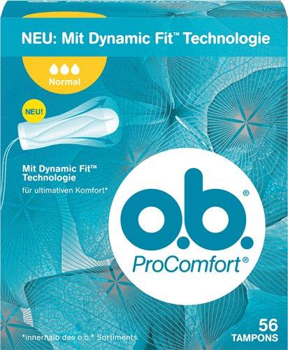 o.b. 7X Pro Comfort Normal Tampons