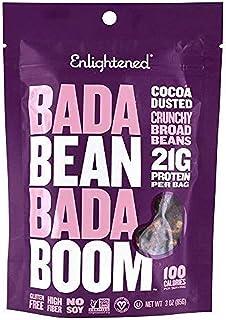 Bada Bean Bada Boom - Plant-Based Protein, Gluten Free, Vegan, Crunchy Roasted Broad (Fava) Bean Snacks, 100 Calories per ...