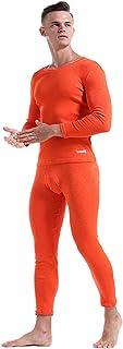 Men's Soft Underwear Set Top & Bottom Set Long Soft Smooth Base Layering Set