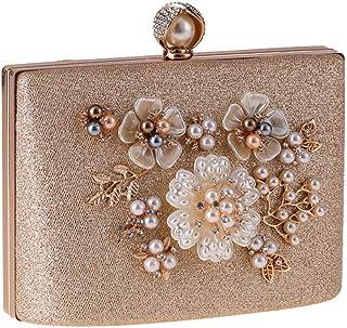 ETH Dress Pearl Evening Bags Women's Handbags Bag Small Square Package Hard Shell 18CM * 13CM * 8.5CM Hand Bag