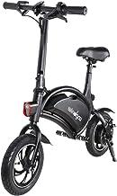 Windgoo Electric Bike Foldable 12 inch 36V E-bike with 6.0Ah Lithium Battery, City Bicycle Max Speed 25 km/h, Disc Brake