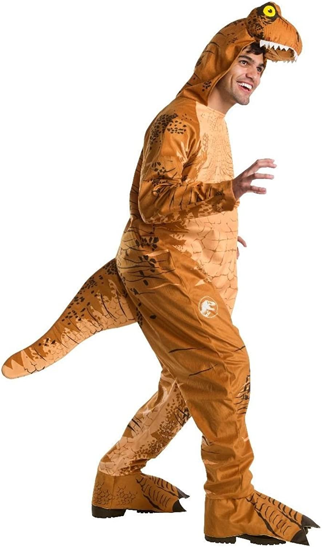 Jurassic World  Fallen Kingdom TRex Oversized Jumpsuit Adult Deluxe Costume Standard
