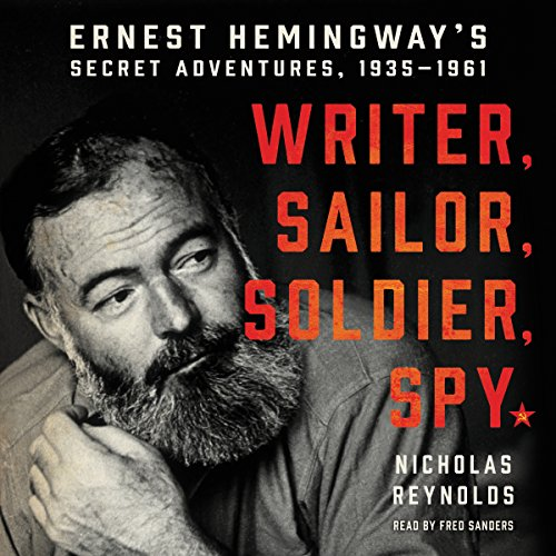 Writer, Sailor, Soldier, Spy audiobook cover art