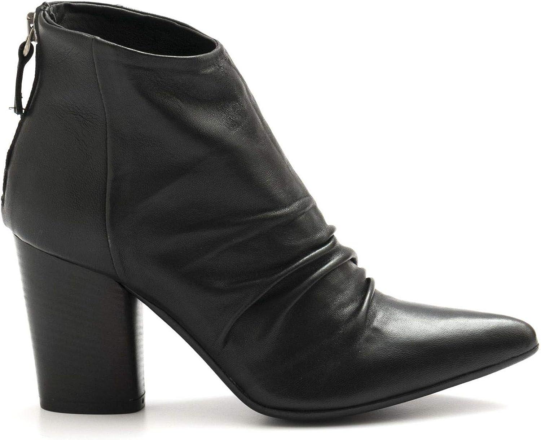 Zoe - schwarz Marta Anckle Stiefel in Soft Nappa Leather - MARTA009 Nappa schwarz