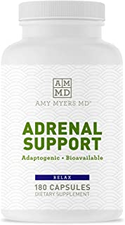 Dr. Amy Myers Adrenal Support - Best Natural Formula to Support Adrenal Fatigue, Cortisol Health, Stress Relief - Ashwagan...