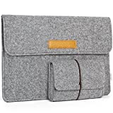 JSVER 13 Inch Laptop Sleeve Felt Protective Case for MacBook Air/Pro...