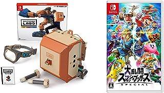 Nintendo Labo (ニンテンドー ラボ) Toy-Con 02: Robot Kit - Switch + 大乱闘スマッシュブラザーズ SPECIAL - Switch セット