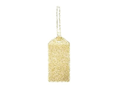 Kate Spade New York Glitter Luggage Tag (Gold) Wallet