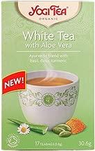 Yogi Tea White Tea Aloe Vera Organic Tea 17 Bags