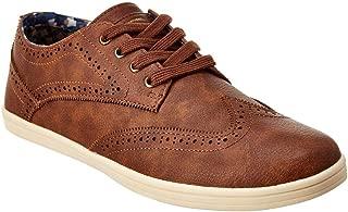 Ben Sherman Nicholas Wingtip Sneaker, 10, Brown