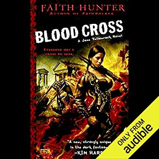 Blood Cross     Jane Yellowrock, Book 2              Written by:                                                                                                                                 Faith Hunter                               Narrated by:                                                                                                                                 Khristine Hvam                      Length: 14 hrs and 25 mins     10 ratings     Overall 4.5