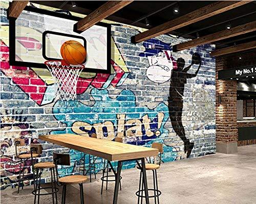 Papel Pintado Pared Dormitorio Fotomurales Decorativos Pared Tapiz De Pared 3D Graffiti Pintado A Mano Artículos Deportivos Zapatillas De Baloncesto Pared Papel Pintado Cuadros Habitacion Bebe Poster