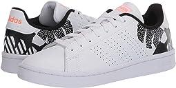 Footwear White/Footwear White/Signal Coral