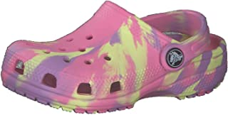 Crocs Unisex-Child Classic Marbled Tie Dye Clog