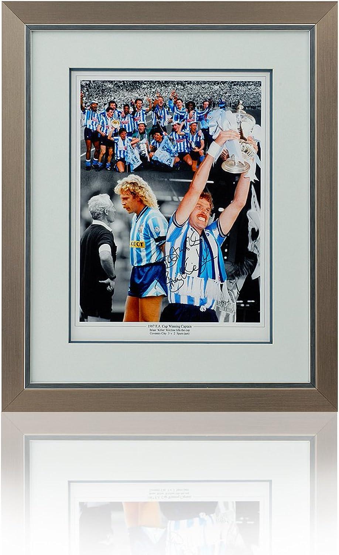 Brian Kilcline 30.48 x 40.64 cm, handsigniert, gerahmt, 1987 Coventry City-FA-Cup Montage B00E8PXLU4  Kaufen