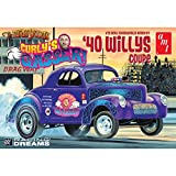 AMT AMT939 1:25 Scale 1940 Curly's Willys Coupe Gasser Dragster Model Kit
