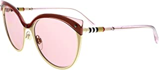 Burberry Sunglass for Women Pink Cat Eye BE3096 128284 55