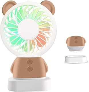 Handheld Mini Fan,Portable Battery-Powered Fan,Rechargeable Battery Fan Cools Home Office Travel Camping and Outdoor Activ...
