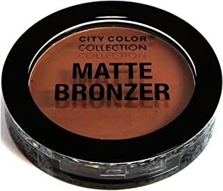 CITY COLOR - Matte Bronzer, Copper (Highly Pigmented)