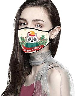 Padaleks Fashion Cloth Fabric Face Madks Unisex Earloop Bandana Washable and Reusable Breathable Mouth Muffle 1/3/5PC