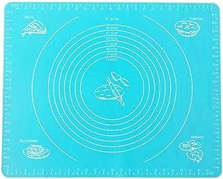 HJKHJK 40x50cm Grand Tapis de Cuisson e Tapis de Feuille de Tampon de pâtisserie pour ing Pizza D Support de Fabricant ant...