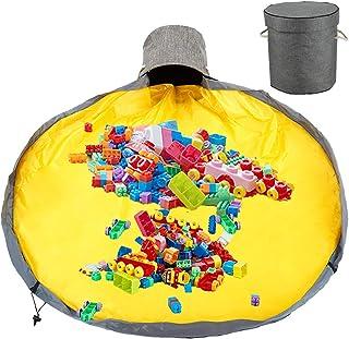 Fivebop Toy Storage Oragnizer Bucket Play Mat Washable...