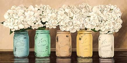 Hydrangeas in Mason Jars by Jenny Thomlinson 12