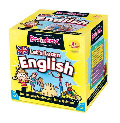 Brain Box 2094952 Let's Learn English Lernspiel Quizspiel für Kinder ab 8 Jahren